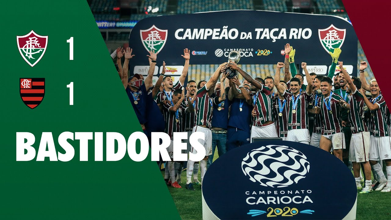 FluTV - Bastidores - Fluminense 1 x 1 Flamengo - Final da Taça Rio