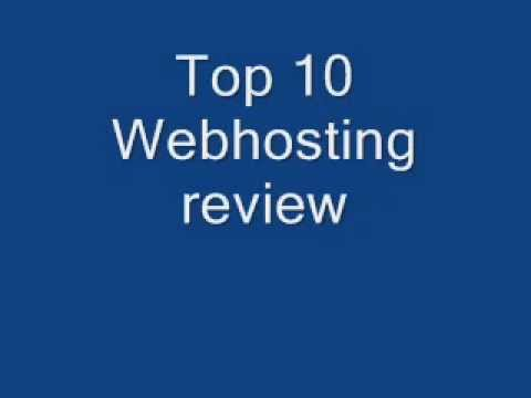 Webhosting review