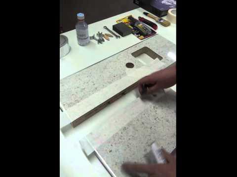 Правила монтажа столешницы из ДСП с ламинатовым покрытием
