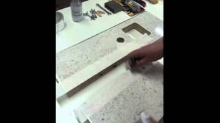Правила монтажа столешницы из ДСП с ламинатовым покрытием(Полезно знать., 2015-01-14T12:25:29.000Z)