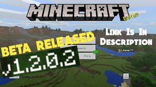 Minecraft PE | Mcpe1.2.0.2 BETA | Download/APK