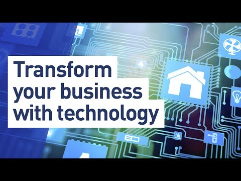 Transform your business with technology: Artificial intelligence, robotics, Internet of Things