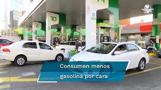 De acuerdo con Pemex, mexicanos compraron 88.73 mil barriles diarios menos entre enero y mayo de 2021 respecto a 2019; en cinco meses, la Regular subió 12.9% de precios, y la Premium, 19.1%