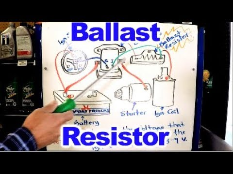 Amc Voltage Regulator Wiring Diagram How The Ballast Resistor Works Youtube
