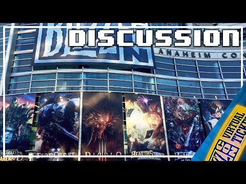 Blizzcon 2017 Live Reaction (Note: I was sick during this)