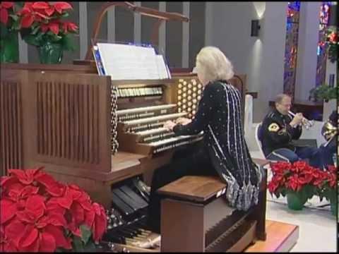 G.F. Handel - Hallelujah Chorus - Diane Bish - U.S. Army Brass Quintet - Program #28090