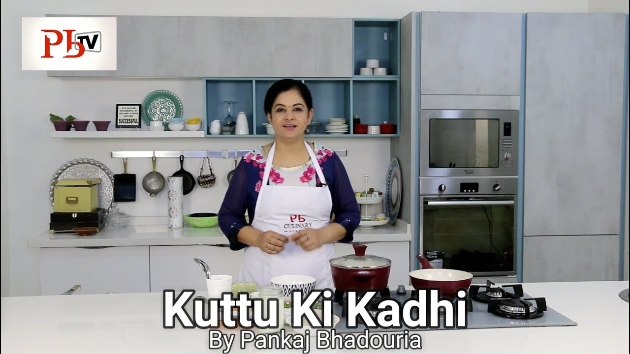 how to make dahi ki kadhi