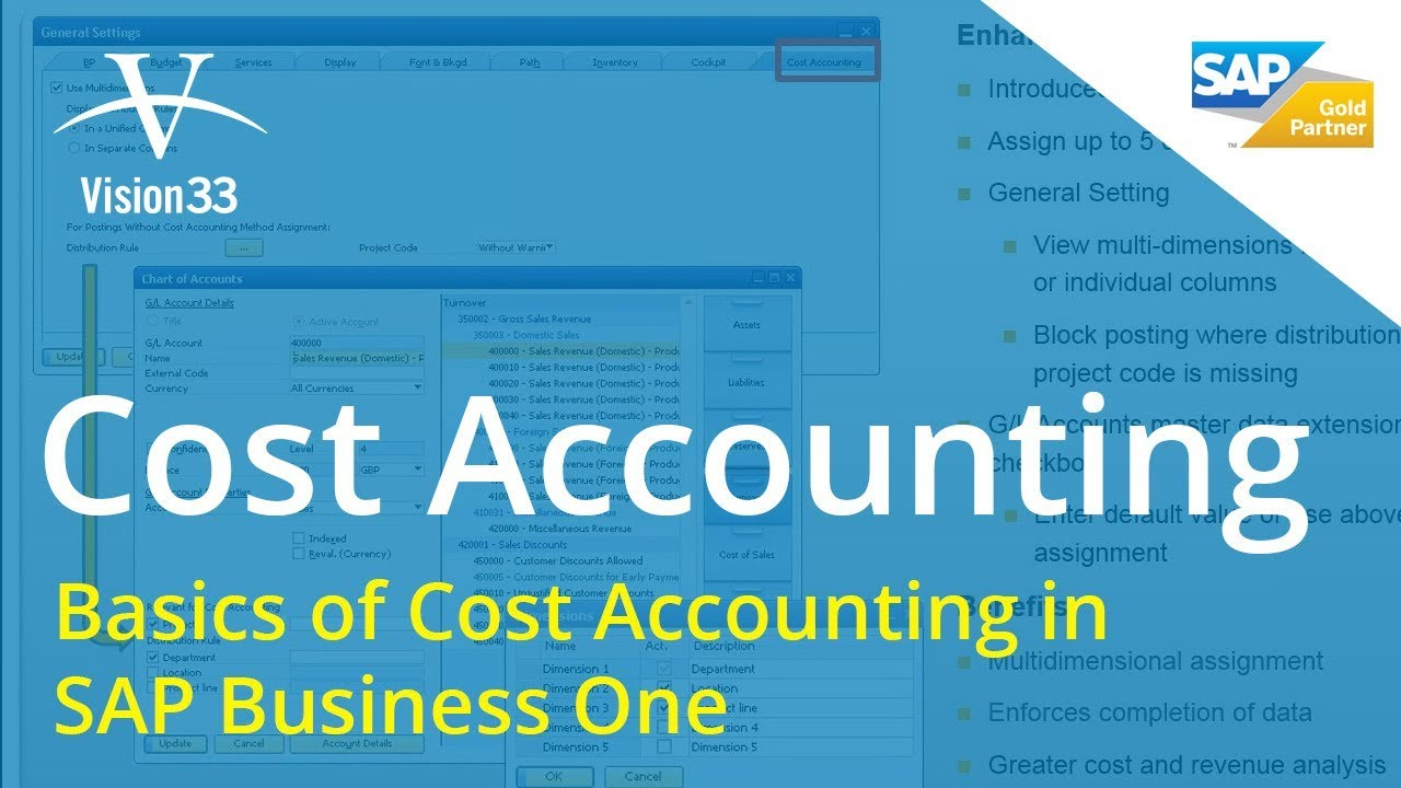 financial series  cost accounting