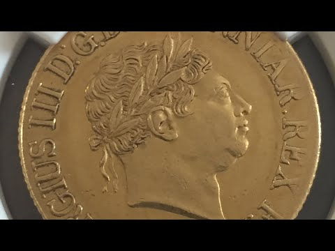 1820 Full Gold Sovereign NGC AU58 ,, Lovely 😉