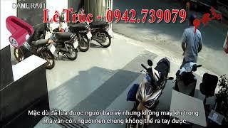 Những tình huống dàn cảnh trộm xe ở Việt Nam