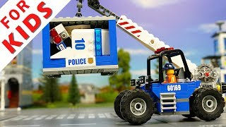 Cars for Kids  Police Car Fire Truck  funny kid video Toy for Kids