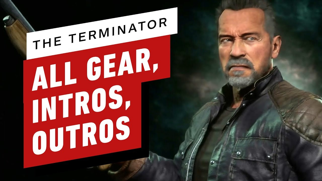 Mortal Kombat 11 - The Terminator (All Gear, Skins, Intros and Outros)