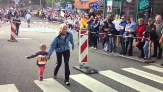 11. Behr-Lauf Mühlacker, Mai 2012 | Lana die Jüngste beim Bambini-Lauf