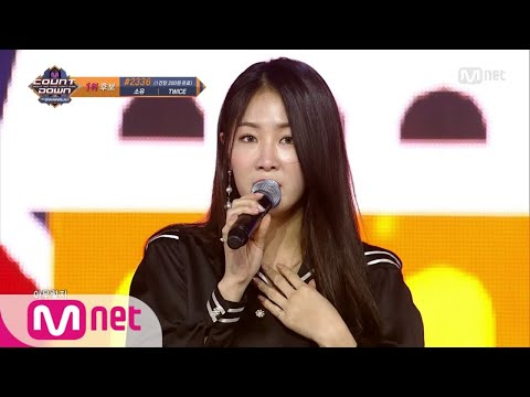 [SOYOU - The Night] KPOP TV Show | M COUNTDOWN 171221 EP.551