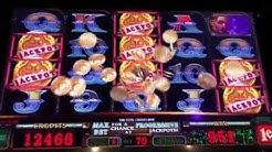 Pirates Skull&Bones Slot Machine ~ LINE HITS JACKPOT SYMBOLS! ~ BIG WINS!!!