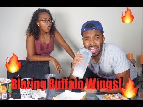 Blazing Buffalo Wild Wing Challenge!!!   T&MVibes