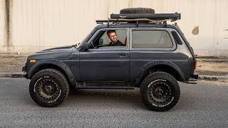 Charged Lada 4x4 Niva in UAE | Заряженная Нива в Арабских Эмиратах