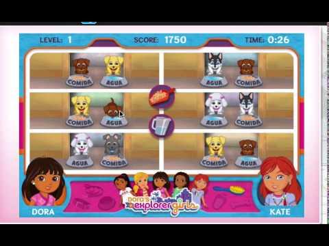 Playing Dora And Explorer Girls Dora S Puppy Adoption Day