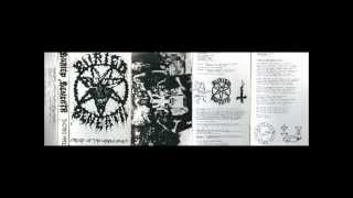 "BURIED BENEATH (us/ny) ""Creed Of The Unholy Spirit"" 1992 demo#1 (full demo)"