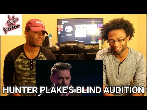"The Voice 2017 Blind Audition - Hunter Plake: ""Carry On"" (REACTION)"