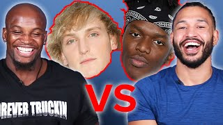 Pro Boxers Review KSI Vs. LOGAN PAUL Draw