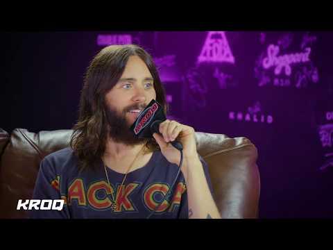 Jared Leto Discusses New Thirty Seconds To Mars Album with Nicole Alvarez