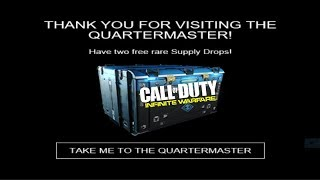 How to Receive 2 Rare Supply Drops for Free - Call of Duty: Infinite Warfare