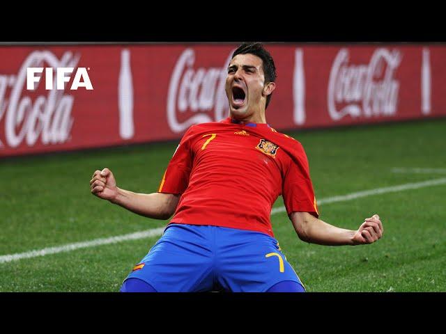 David Villa | FIFA World Cup Goals