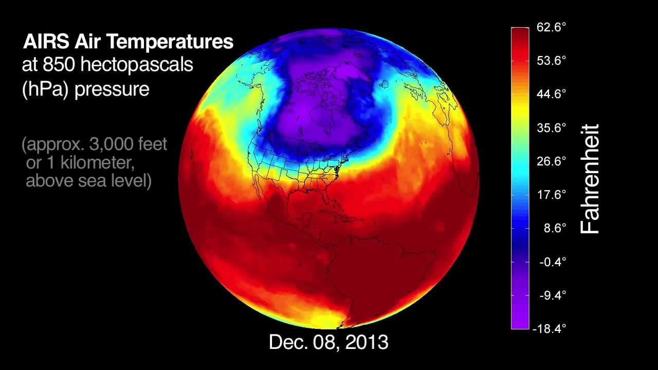 Polar Vortex Behind U S Big Chill Youtube