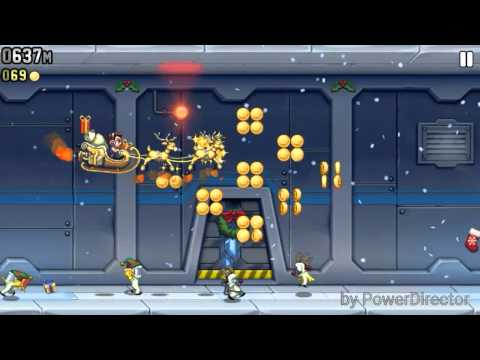 Jetpack Joyride sleigh of awesome theme song