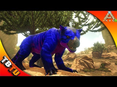 ARK THYLACOLEO COLOR MUTATION! THYLACOLEO BREEDING! ARK Survival Evolved Scorched Earth