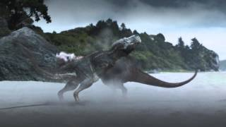 My first full resounding of a video, I present the T. rex battle be...