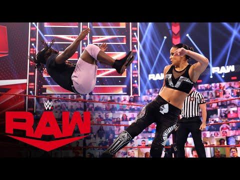Reginald vs. Shayna Baszler: Raw, May 31, 2021