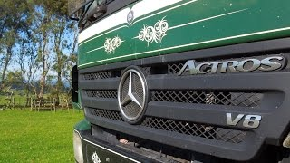 Mercedes Actros v8 sound