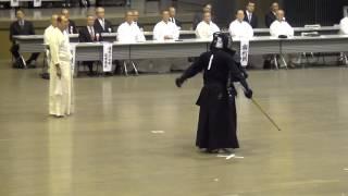 Kendo 8 dan Tournament 22   Onda vs Koyama - Tomohito Shino Cup 2016