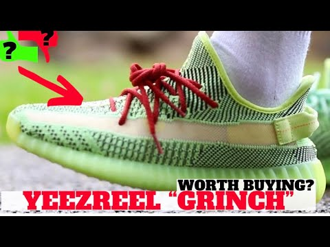 ADIDAS YEEZY BOOST 350 V2 YEEZREEL REVIEW & ON FEET (WORTH BUYING?)