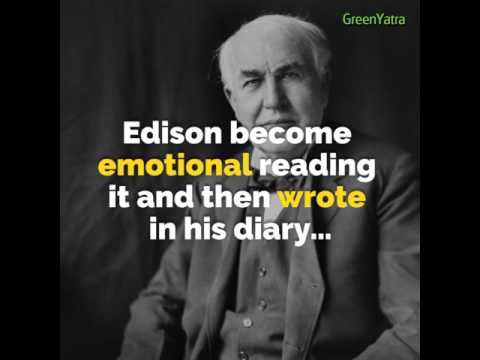 Power of Positive Words: A Life Transforming Story of The Great Thomas Edison
