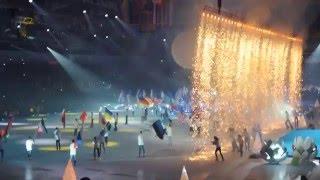 Открытие чемпионата мира по хоккею с мячом в Ульяновске.