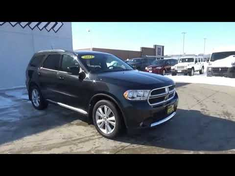 2012 Dodge Durango Iowa City Ia Dt2892b Youtube