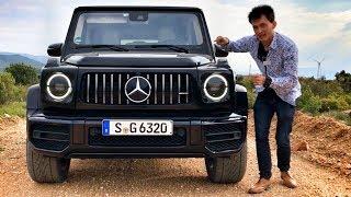 Тест НОВОГО ГЕЛИКА 63!!! Валим боком по камням или на что способен Mercedes-AMG G 63. Обзор. G-Class
