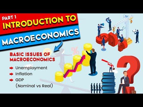 L1: Introduction to Macroeconomics | What is Macroeconomics