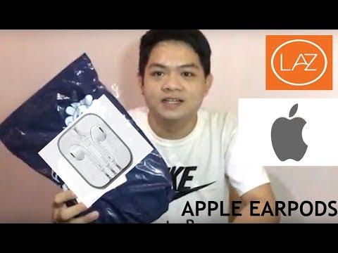 9905e3ba6b7 NEW APPLE STORE ON LAZADA / APPLE EARPODS REVIEW - YouTube
