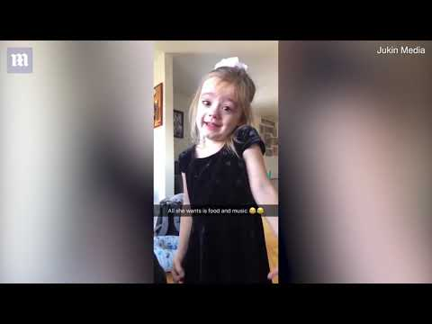 Little Girls Cries And Can't Explain Why She's Sad In Funny Video