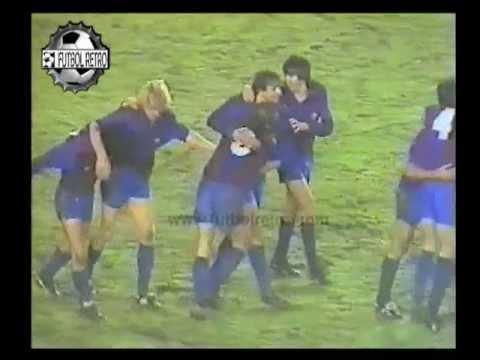 Real Madrid 0 vs Barcelona 2 Liga 1982/83 Maradona, Schuster, Camacho FUTBOL RETRO