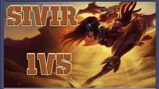 LoL Best Moments #3 Awasome Sivir 1v5 (League of Legends)
