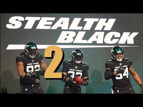 Jacksonville Jaguars New Uniforms 2020.Madden 19 New York Jets New Uniforms All Black Nick Foles Jacksonville Jaguars Ep 2