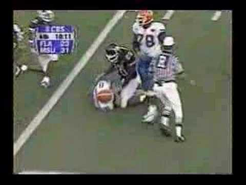Rex Grossman and Florida - self inflicted 3rd and 57