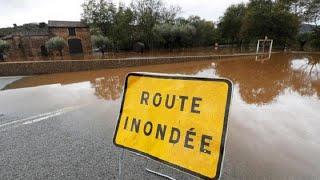 Halálos áradások Franciaországban
