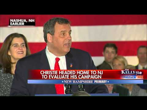 Chris Christie Heading Home to Evaluate Campaign