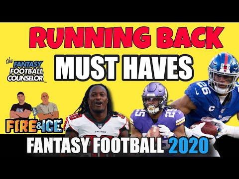 Must Have Running Backs 2020 Fantasy Football Youtube